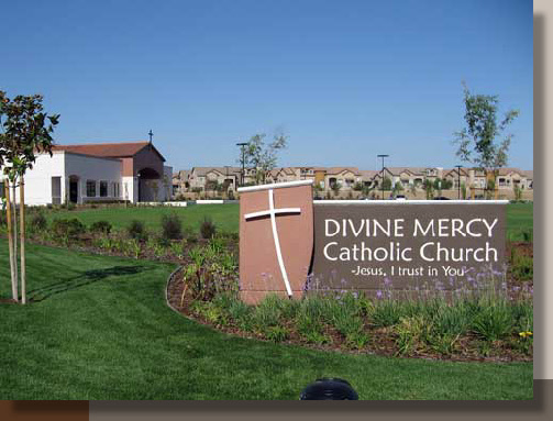 Planting Design for Divine Mercy Church in Sacramento
