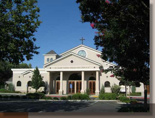 Saint Joseph Catholic Church Vacaville G R Landscape